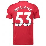 Nuevo Camiseta Manchester United 1ª Liga 19/20 Williams Baratas